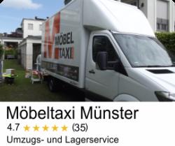 Google Bewertung Möbeltaxi Münster